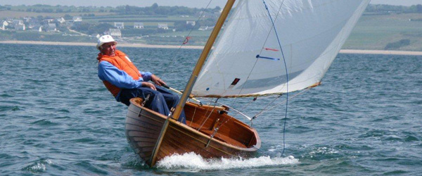 Fred Udo sail Waterlander to victory